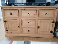 Lovely Corona TV cabinet/sideboard with ample cupboard storage