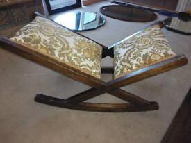 Antique foot stool/ rocker