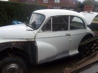 Morris Minor 1098cc good restoration project