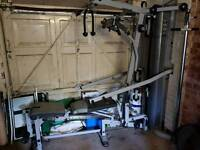 York multi gym 100kg metal weightstack great gym need gone make an offer)))