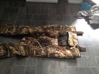 Chest waders in great condition size 10 boots.