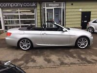 BMW 320d M-SPORT DIESEL AUTO CONVERTIBLE - FINANCE AVAILABLE