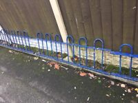 Quality Bow Tow Railings / Wall Toppers / Steel Fencing 20ft In Total- DELIVERY/COLLECTION WIGAN