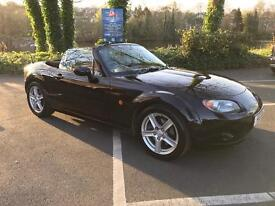 Mazda MX-5 Convertible 1.8 in Black (56 Plate) - Drives Really Well!