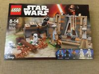 Lego 75139 - Star Wars Battle on Takodana - Brand New in the Box and Sealed