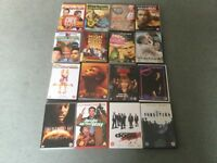 DVDS FOR SALE. VARIOUS X 16