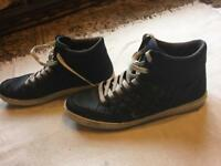 Easy mens trainers black size 11/45 used £5