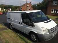 ford transit mwb 2008 2.2 double slide door
