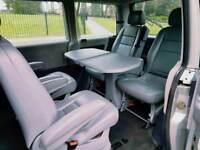 Mercedes V class 6 SEATER + BAR TABLE GORGEOUS CONDITION £3499 MPV VAN CARAVAN