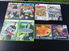 Xbox360,pc, ps1 Games