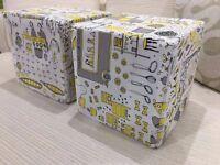 Foam kids pouffe seat cube 30x30x30 cm footstool
