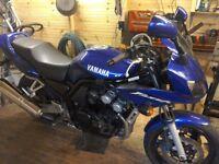 Yamaha fazer fzs600 02 reg