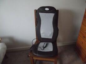 Scholl chair massager.