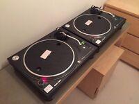 2 x Technics SL1210Mk3D SL1210Mk3 SL1210 Mk3 Professional DJ Deck Turntable DJ