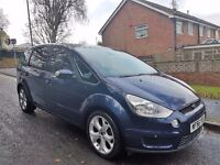 56 REG FORD S-MAX TITANIUM 2.0 TDCI,6 SPEED MANUAL,NEW MOT,2 KEYS