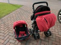 Jane NOMAD Travel System - Baby pram, car seat and travel cot