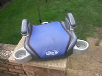 Graco booster car seat - Group 3 ( 6 to 12 Years ) ( 22 - 36 kg )