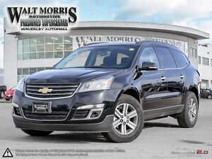 2017 CHEVROLET TRAVERSE LT: NO ACCIDENTS, ONE OWNER
