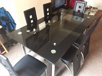 Phoenix 7pc Dining Set