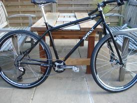 New Surly 1x1 1x10 Size 18 inch Black 650B Trail/Tour Bike