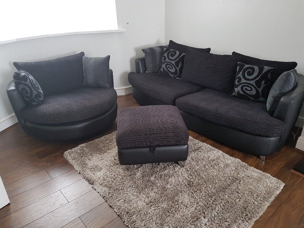 Black Cord Sofa Set For Sale Sofa Cuddle Chair
