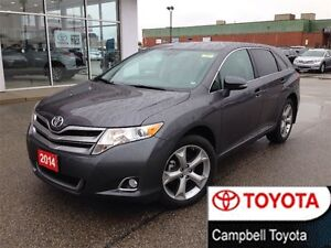 2014 Toyota Venza V6 ONE OWNER LOCAL TRADE 3.5 L