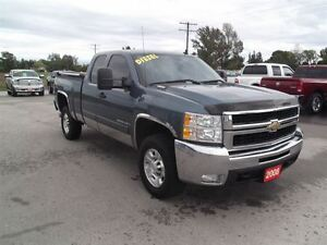 2008 Chevrolet SILVERADO 2500HD LT,DIESEL,4X4,SHORT BOX, ONLY 13