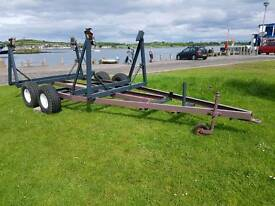 Fully adjustable Yacht, boat trailer in very good condition