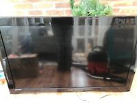 45 inch technika tv with bracket