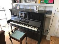 Upright Piano (and stool): Mormelle of London