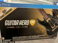 PS4 GUITAR HERO SUPREME PARTY EDITION