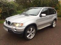 Winter 4wd BMW X5 sport 3ltr diesel automatic sat nav big wheels high spec