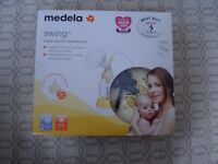 Medela Swing Electric Breast Pump plus Extras