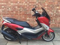 Yamaha N Max 125 low mileage, ABS with EXTRAS