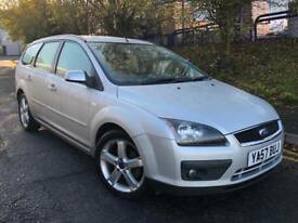 FORD FOCUS ZETEC 1.8 TDCI 2007 ALLOYS MOTD TWO KEYS BARGAIN MUST SEE
