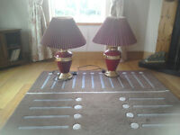 Pair of Touch Lamps