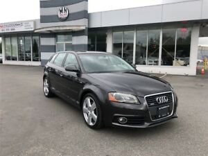 2009 Audi A3 2.0L Quattro, S-Line Leather, Dual Sunroof