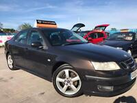 Saab 9-3 2.0 T VECTOR- 5 Dr Saloon - AUTOMATIC - Half Leather - 2 Keys - 7 Service Stamps - WARRANTY