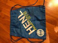 Blue Henley Bag