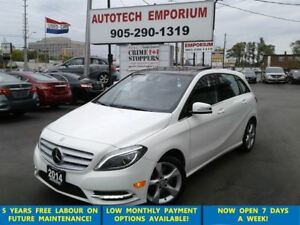 2014 Mercedes-Benz B-Class B250 Prl Whilt Panoroof/Camera/Leathe