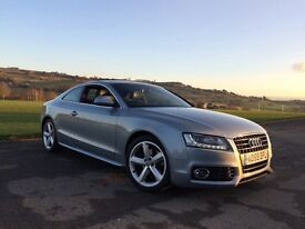 Audi A5 2.0 tdi S Line 2009 (59) 12 months MOT, 4 Brand New Tyres, Bang & Olufson sound system