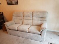 G Plan sofa And recliner chair