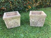 Garden Planter Pots Concrete Stone Garden Patio Plant Pots Delivery Available