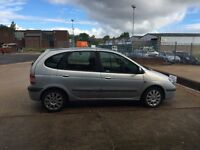 RENAULT SCENIC FIDGI 1.6 2002 LOW LOW MILEAGE 2 LADY OWNERS