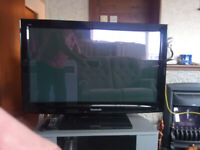 Panasonic 37 inch 1080P Flat Screen TV - 2 X HDMI etc - Television and Stand
