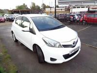 TOYOTA YARIS 1.3 VVT-I TR 5d AUTO 98 BHP Apply for finance Onli (white) 2013