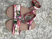 Ted Baker girls size 2 sandals
