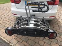 Mottez tow ball mounted 4 bike bicycle rack