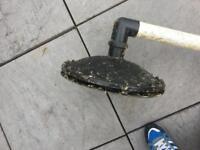 Retro bottom drain and pump