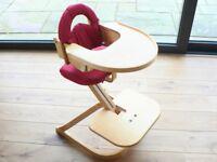 Svan Beech Wood High Chair